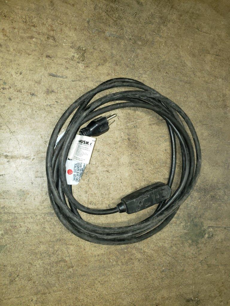 Husky Heavy Duty 15ft 16/3 3-Outlet Extension Cord HD#448-544 extension cord 15 ft feet foot
