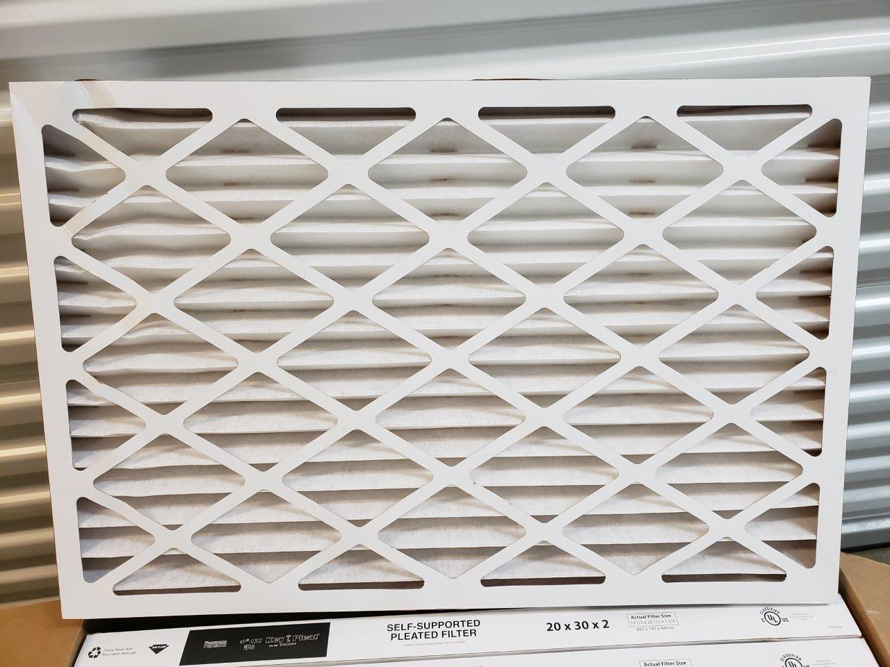 20x30x2 Furnace Air Filters AC Purolator KP-0302 MERV 8 Filter