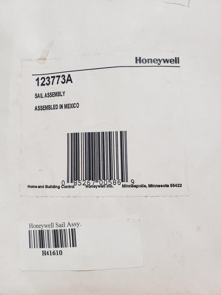 Honeywell 123773A Sail Assembly for S688A