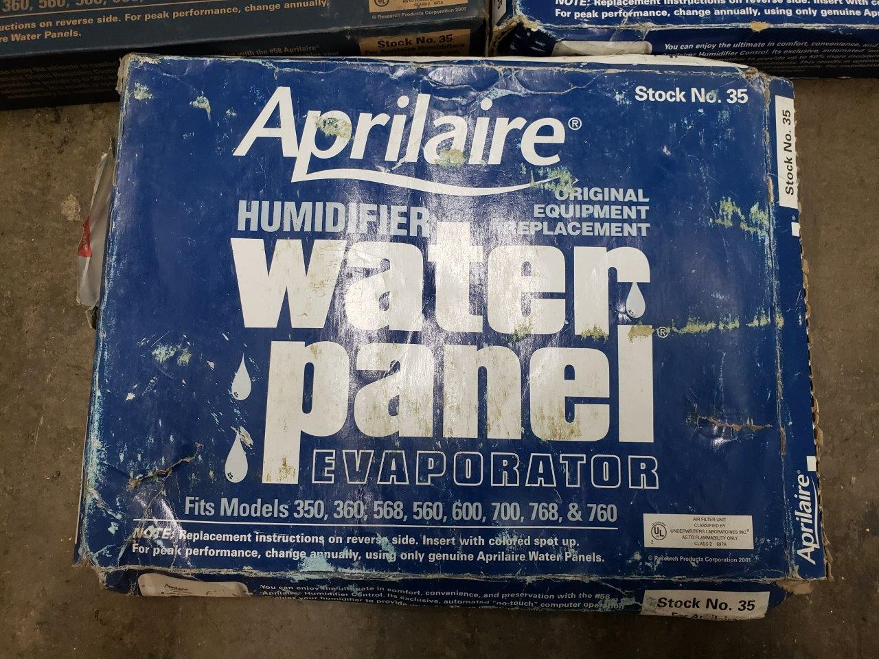 Genuine Aprilaire 35 Water Panel Humidifier Filter Pad For 350, 360, 560, 560A