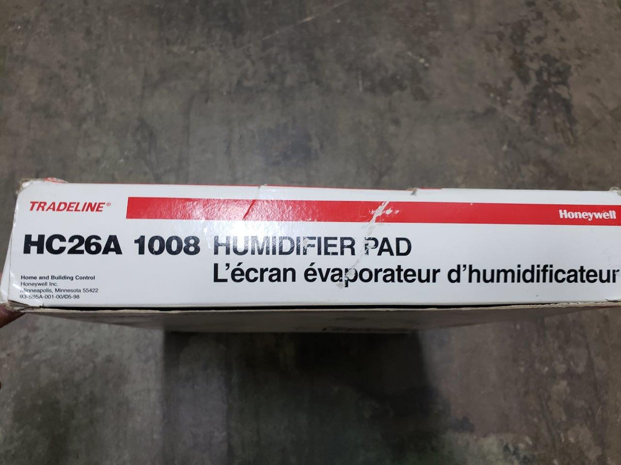 Honeywell Standard Humidifier Pad HC26A1008 for the HE260, HE265, HE360 and HE365
