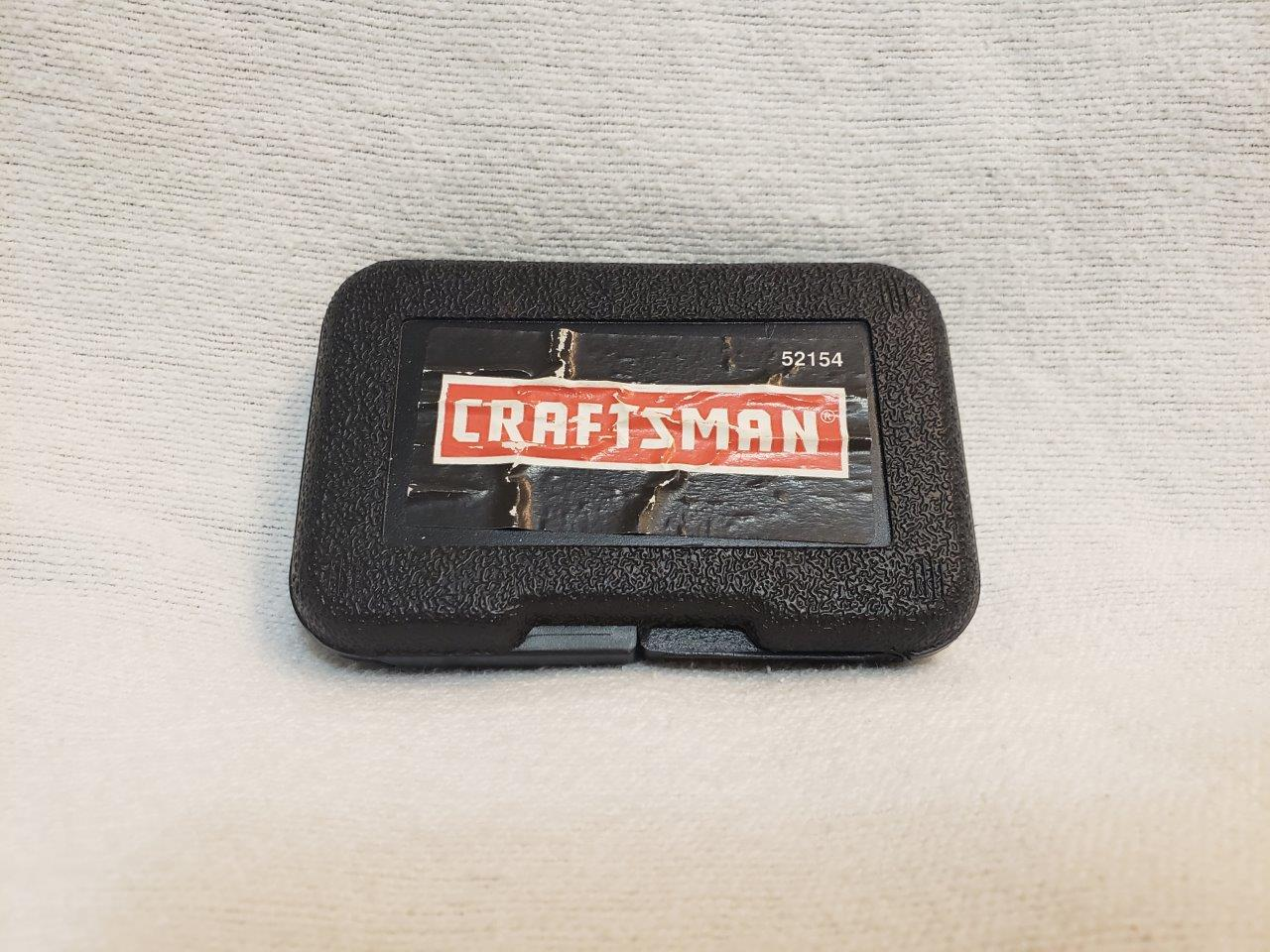 Craftsman Screw-Out Screw Removers 52154 3 Piece Set in Plastic Case