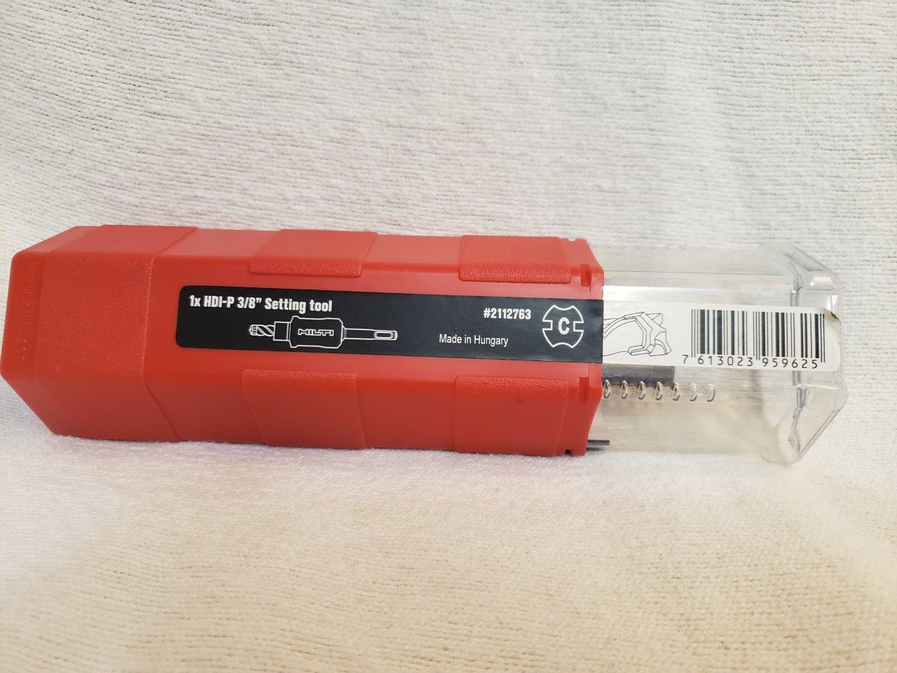 Brand New Hilti Set tool & Drill Bit Combo 2112763 HDI-P 3/8