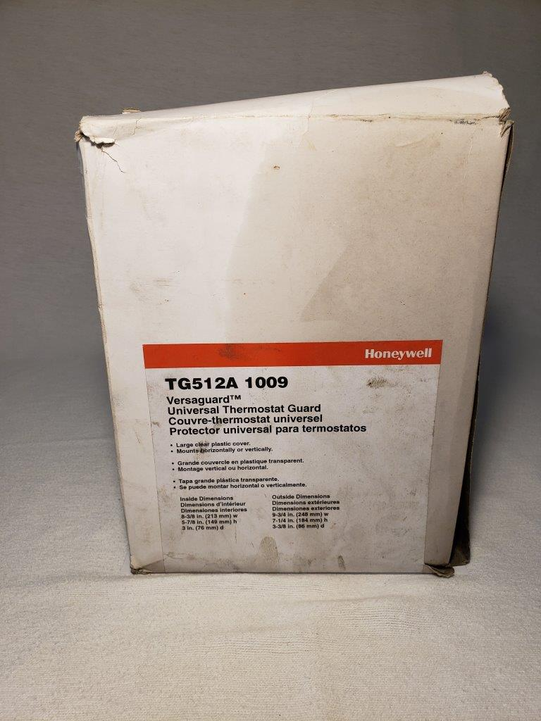 Honeywell TG512A1009 Thermostat Cover With Lock And Keys, Large New