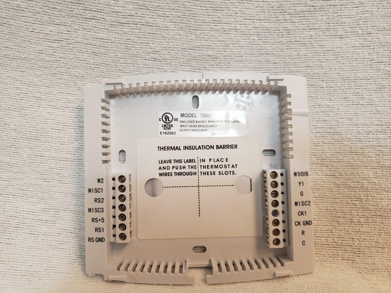 Venstar T2800 Commercial Platinum Slimline Thermostat (3 Heat, 2 Cool) New Wi-Fi Programmable