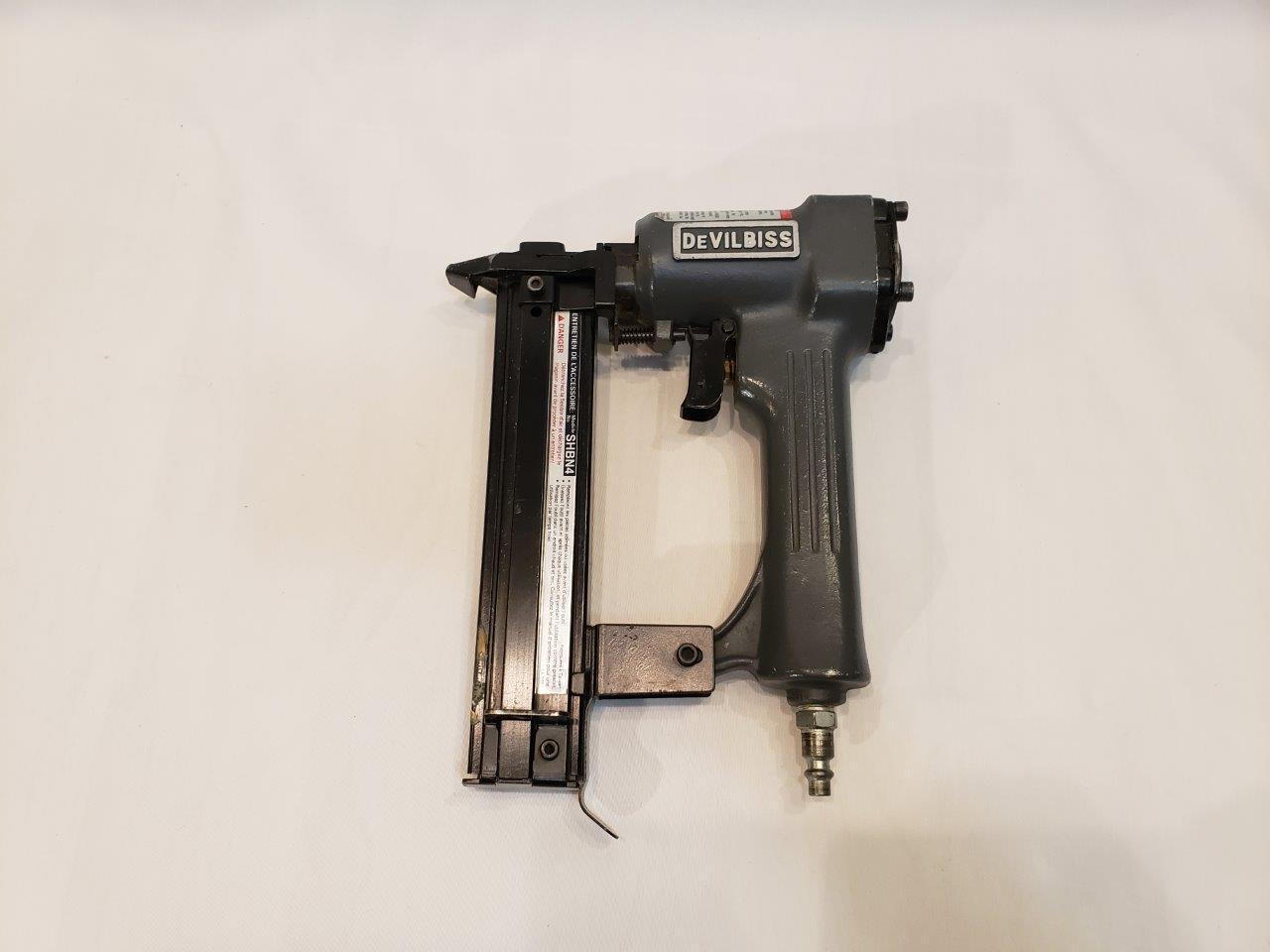 18 Gauge Brad Air Nailer, DeVilbiss Nail Gun Pneumatic fastener