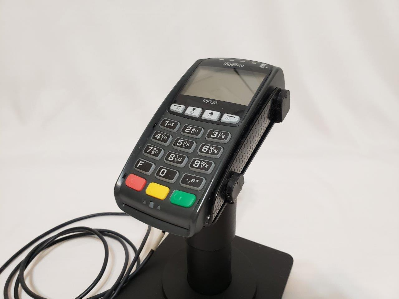 Ingenico iPP320 Debit Credit Card POS Retail Terminal w Chip Reader IPP320-11T2390A