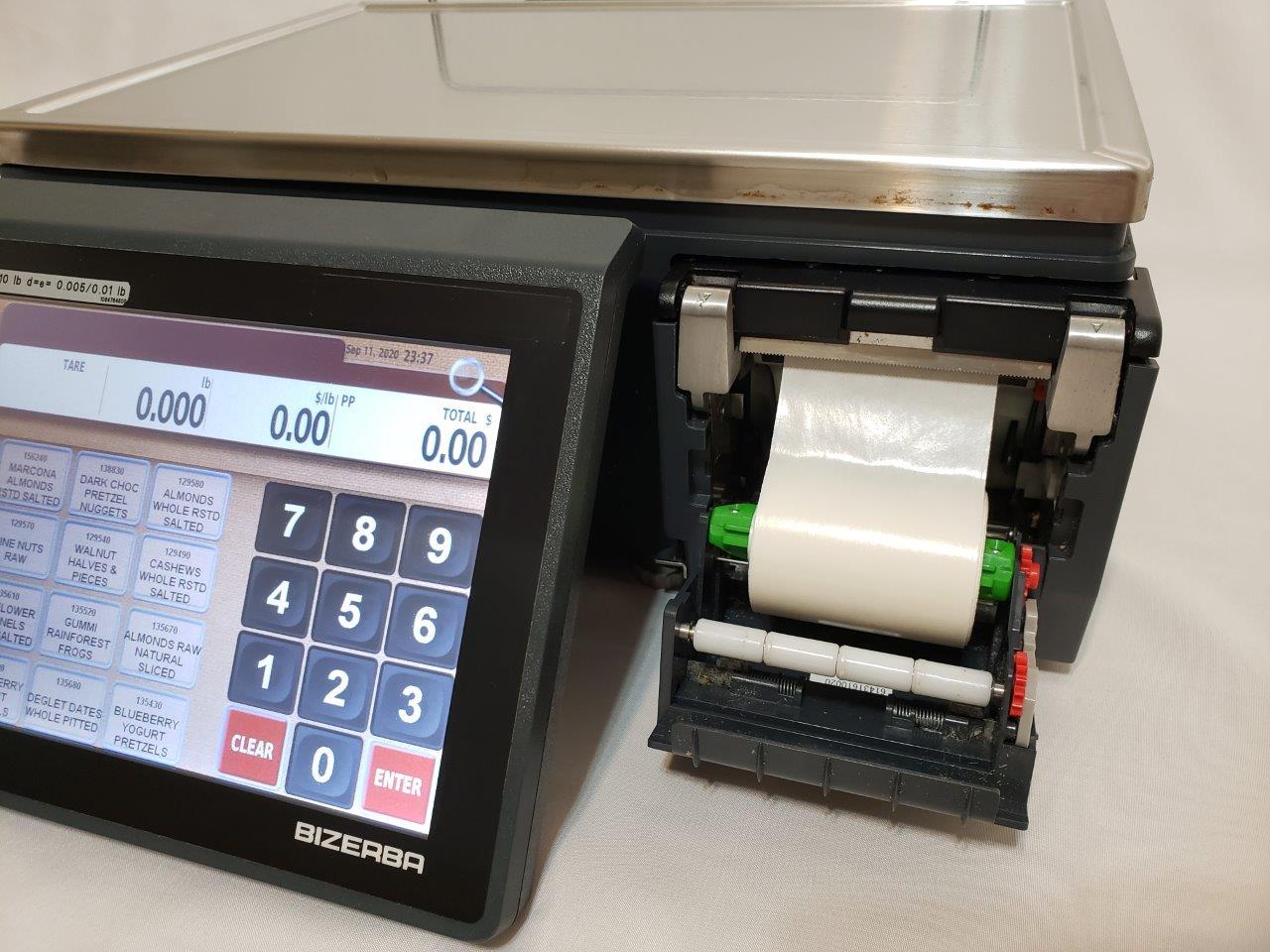 Bizerba Multimedia Scale XC 100 with 3-in-1 Printer