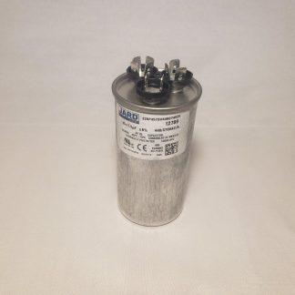 45 + 7.5 MFD x 370 or 440 VAC Motor Dual Run Capacitor Round JARD 12789