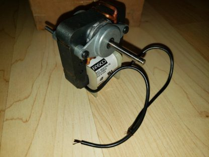Fasco K670 C-Frame Motor, 1/150 HP, 120 Volts, 3000 RPM, 1 Speed, 0.61 Amps, For Vent Fan OAO Enclosure, CCWSE Rotation, Sleeve Bearing