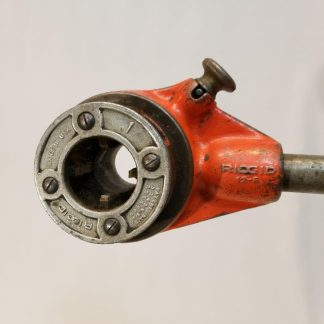 RIDGID Pipe 12-R Hand Ratchet Threader No. D-286 & 1 inch die head