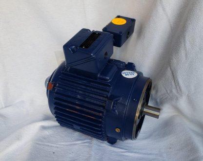 TB213TTTS18653AAL 213TCVZ 1 HP 3 Phase 460V Severe Duty Motor 575RPM 0.75 KW Marathon Electric Motors