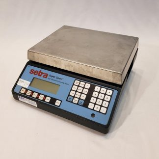 Setra High Resolution Counting Scale, Super Count SC-55 Industrial Intelligent Weighing Technology